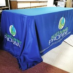 For more then just shirts! -4sided Tablecloth #pressingideas #htv #heatpress #custom #easyweed #hph #heatpresshawaii