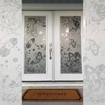 Siser PSV Etch ~Welcome home~ #siserpsv #etch #siserna #decals #stickers #glassetching #koi #homedecor #custom #hph #heatpresshawaii