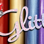 Siser EasyPSV Glitter! Sparkle, shine, and impress with this eye catching glitter decal vinyl. Now available at heatpresshawaii.com #hph #heatpresshawaii #siserna #psv #glittet #pressuresensativevinyl #shiny #sparkle