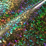 Colorful ocean of Crystal. Siser Holographic Crystal. #hph #heatpresshawaii #siserna #siser #holographic #easyweed #heatpress #garmentdecorators