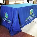 For more then just shirts! -4sided Tablecloth #pressingideas #htv #heatpress #custom #easyweed #hph #heatpresshawaii