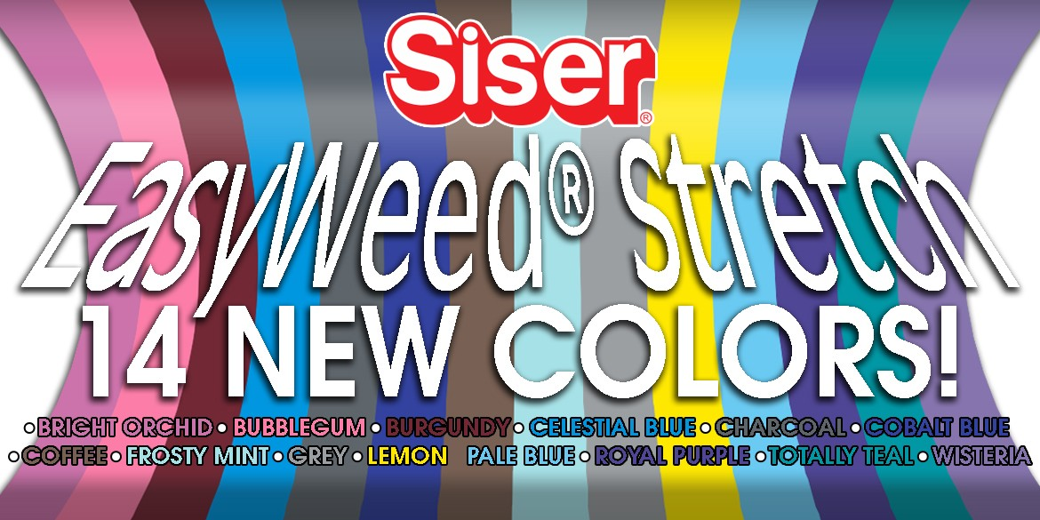 EasyWeed Stretch - New Colors